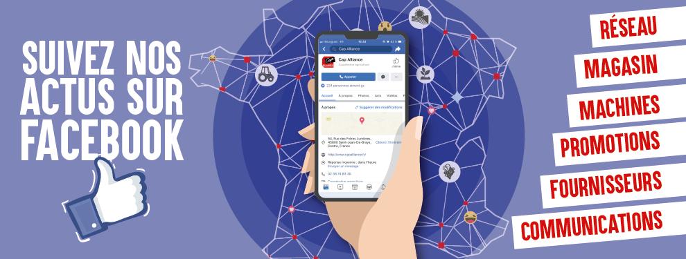 Page Facebook CAP ALLIANCE